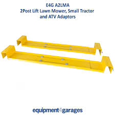2 post lift lawn mower adaptor 2 post ramp atv adaptor