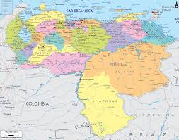 Physical Map Of South America by Political Map Of Venezuela And Venezuela Details Map Quotes
