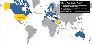 A Map Of America by Here U0027s A Map Of Obama U0027s Coalition Against The Islamic State