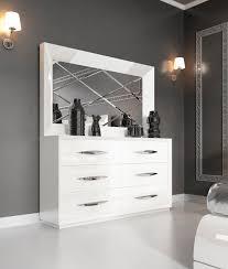 Modern Bedroom Set Dark Wood Carmen White Modern Bedrooms Bedroom Furniture Pertaining To