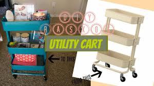 diy raskog utility cart april tellez youtube