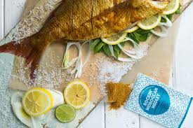 baked whole snapper rockin u0027 moroccan style recipe the spice
