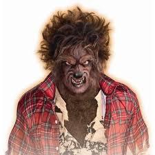 halloween mens wigs amazon com werewolf wig toys u0026 games