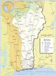 Map Of Mali Africa by Nations Online Political Map Of Benin 1200 Pixel Nations Online
