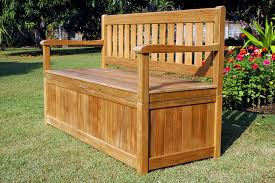 Build Wood Garden Bench by Bedroom Excellent Plans For Deck Bench Which Allows Storage Space