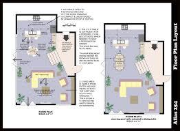 kitchen archicad cad autocad drawing plan 3d portfolio interior