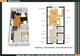 ft studio apartment floor plans home design ideas
