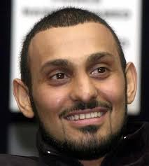 26 2002 file photo of Boxer Prince Naseem Hamed at a. See gallery: Feb. 26 2002 file photo of Boxer Prince Naseem Hamed at a press conference in London - Naseem%2520Hamed