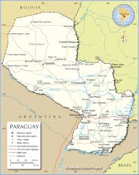 Blank Map Of Afro Eurasia by Paraguay 54 1900 U2013 A Stamp A Day