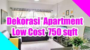 750 Sq Ft Apartment Dekorasi Apartment Low Cost 750sqft Youtube
