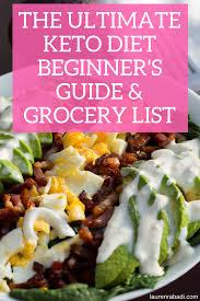 grocery guide the ultimate keto diet beginner u0027s guide u0026 grocery list