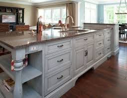 buy kitchen island with sink solid light oak wood counter tops