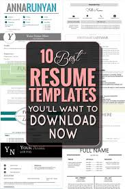 ideas about Best Resume on Pinterest   Resume Examples  Free