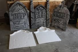 halloween cemetery decorations tombstones yard haunt halloween