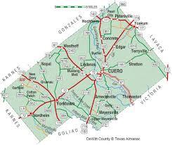 San Antonio Texas Map Dewitt County The Handbook Of Texas Online Texas State