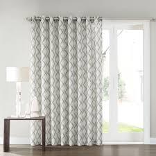 window treatment for glass door sonoma goods for life dallon patio door curtain 100 u0027 u0027 x 84
