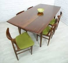 mid century modern dining table and chairs u2039 decor love