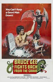 ... and so did Lee Doo-Young this year. I mean, come on, Bruce Lee Fights Back from the Grave!! Does it get any better than that?