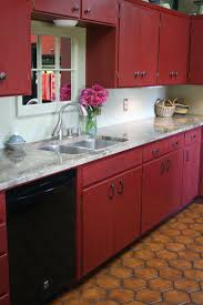 Kitchen Cabinet Top Decor by Best 20 Red Kitchen Cabinets Ideas On Pinterest Red Cabinets