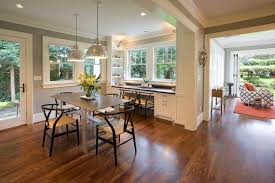 decorating traditional dining room with built in desk and built