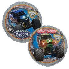 monster truck shows in michigan monster jam 3d foil balloon birthdayexpress com
