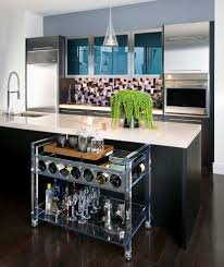 kitchen islands and carts kitchen modern with cart island exposed