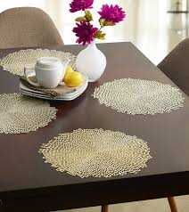 dining room round minibasketweave chilewich placemats also