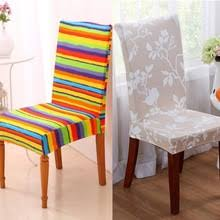 Pattern For Dining Room Chair Covers by Striped Chair Covers Promotion Shop For Promotional Striped Chair