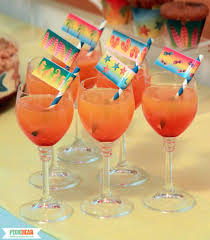 how to make ombre drinks pixiebear party printables