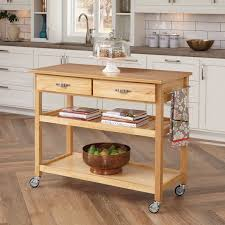Marble Top Kitchen Island Cart by Angelo Home Arlington Kitchen Cart Hayneedle