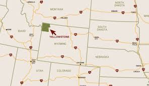 Map Of Colorado And Surrounding States by Yellowstone U0027s Featured Regions Explore Towns Cities And