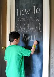 Bedroom Wall Gets Wet How To Prep Season A New Chalkboard Wall Jenna Burger