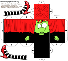 paper crafts templates print out for halloween free paper