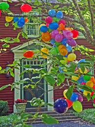 easter egg tree and outdoor easter decorating ideas hgtv