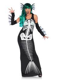 Sea Monster Halloween Costume by Women U0027s Skeleton Siren Costume