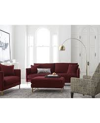 Kenton Fabric 2 Piece Sectional Sofa by Custom Color Sofa Collections Macy U0027s
