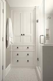 Black And White Small Bathroom Ideas 25 Best White Bathroom Cabinets Ideas On Pinterest Master Bath