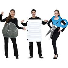 spirit halloween corporate rock paper scissors halloween costume walmart com