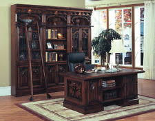 Solid Oak Office Furniture by Traditional Home Office Furniture Sets Ebay