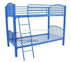 navy steel children sleeping double decker single bunk bed buy