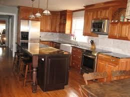 cute natural cherry kitchen cabinets exquisite design inspiration