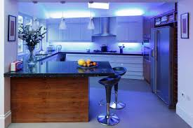 kitchen lighting 3 pendant lamps over island and under cabinet