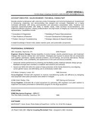 Resume Sample For Sales Engineer     BNZK