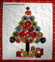 Simons Cat Christmas Tree by Quilt Inspiration Free Pattern Day Christmas Quilts Part 1 Trees