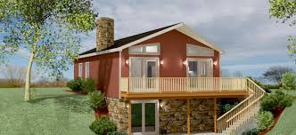chalet home plans modular