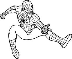 coloring page spiderman spiderman color pages to print archives