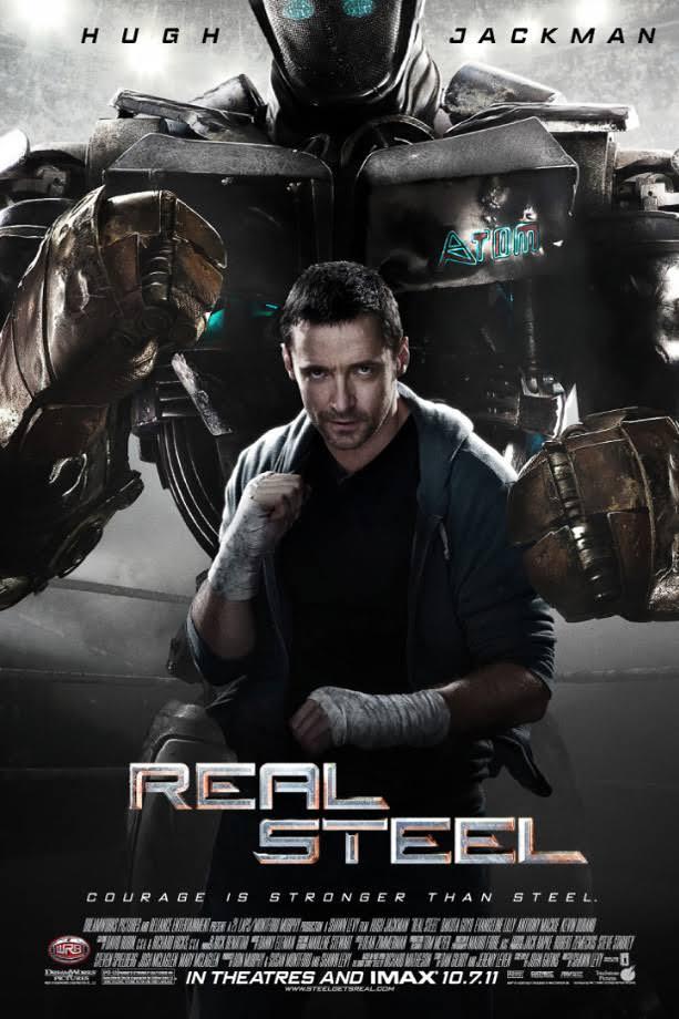 Real Steel (2011) BDRip 1080p  [Hindi 5.1]  X265 600 MB