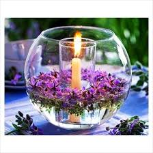 Purple Floating Candles For Centerpieces by Easy Floating Candle Centrepieces Ideas Elegant Table