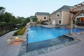 stine residence pool spa acs concrete contractor kansas city