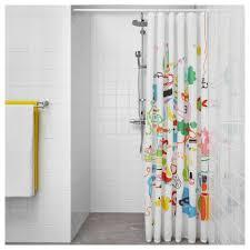 botaren shower curtain rod 70 120 cm ikea